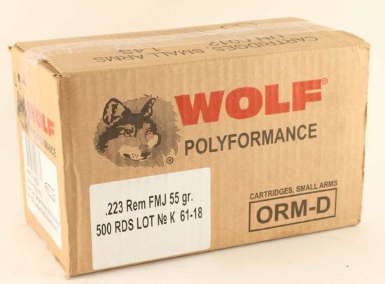 Case of Wolf .223