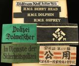 Collection of Repro German WWII Armbands