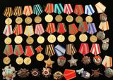 Lot of Soviet Union Medals
