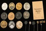 WWI & WWII German Collection of Wound Badges