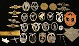 Collection of German WWII Combat Badges