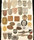 Lot of German WWII Repro Campaign Shields