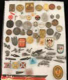 Collection of German WWII Tinnies