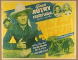 Lot of 2 Gene Autry Movie Posters