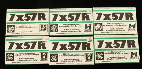 Lot of 7x57R AMMO