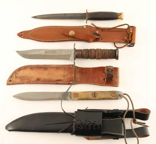 Lot of Fighting Knives
