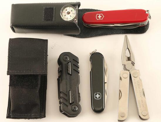 Lot of Multi-Tools - Leatherman, Gerber, Wenger