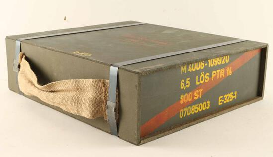 6.5X55 Blanks in sealed crate