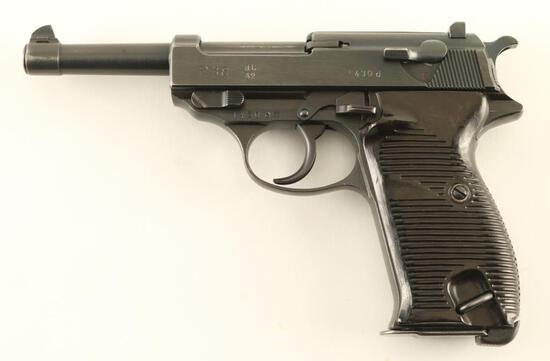 Walther P.38 'ac42' 9mm SN: 1430d