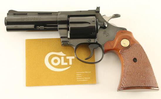 Colt Diamondback .22 LR SN: R09872