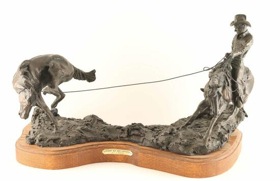 Original Fine Art Bronze by C.R. Morrison
