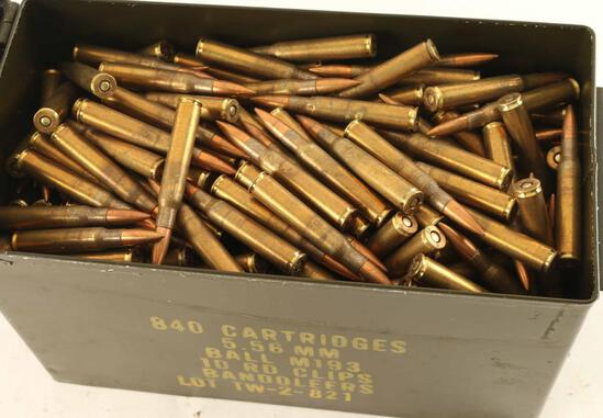 Lot of .30-06 Ammo in Ammo Can