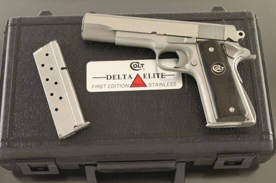 Colt Delta Elite 'First Edition Stainless'