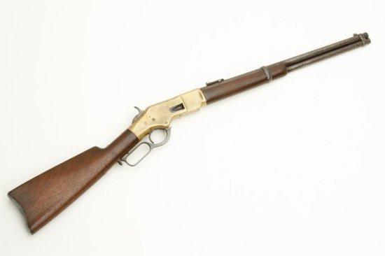 1866 Winchester carbine in .44 rimfire caliber, S/N 162767. In very