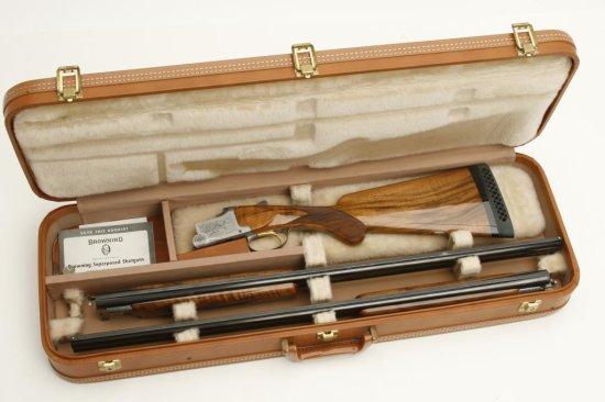 "Belgian made Browning Pigeon Grade two barrel set, 20 gauge, 28"" O/U"