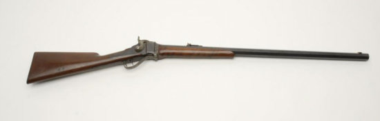 1874 Sharps Heavy Barrel Sporting Rifle, .40 cal., serial #160267. The rifle