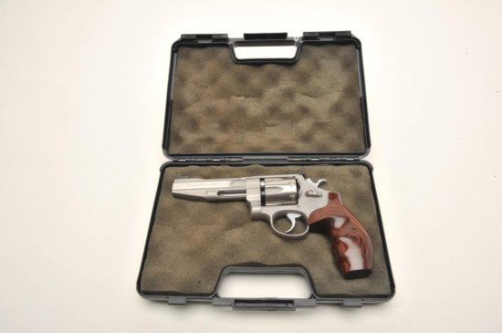 Smith & Wesson Mod 627-PC Performance Center .357 Magnum, 8-shot cylinder.