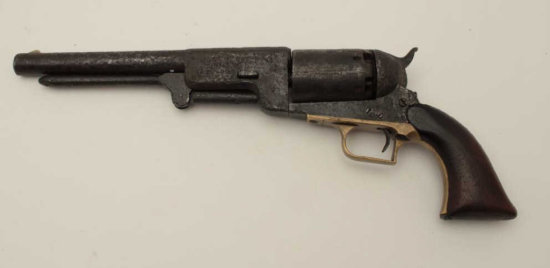 """Authentic Colt Whitneyville Walker revolver number """"B Co. 132"""". This"""