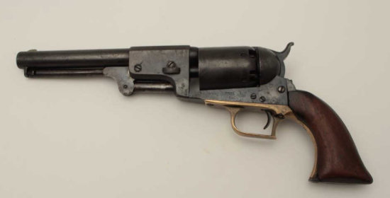 Ultra-rare Colt Whitneyville Hartford Dragoon (2nd Type), S/N 1200. This
