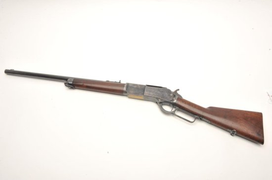 """Winchester Model 1876 .50 caliber special order 22"""" short rifle with"""