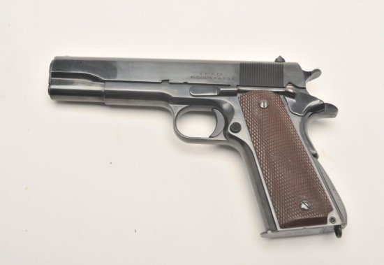 Very rare and highly desired Singer Mfg. Co. Model 1911A-1 semi-automatic pistol,