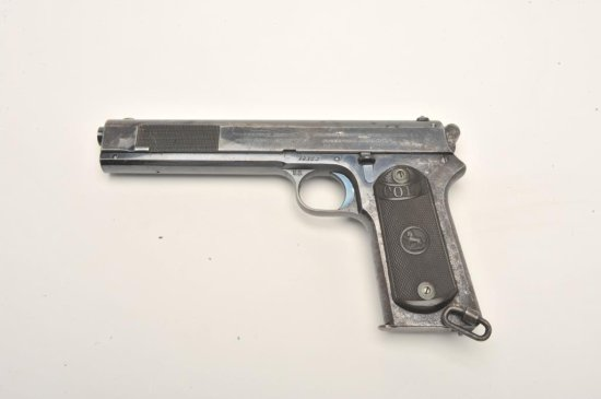 """Desirable Colt Model 1902 Military semi-automatic pistol, """"U.S.""""-marked and inspected,"""
