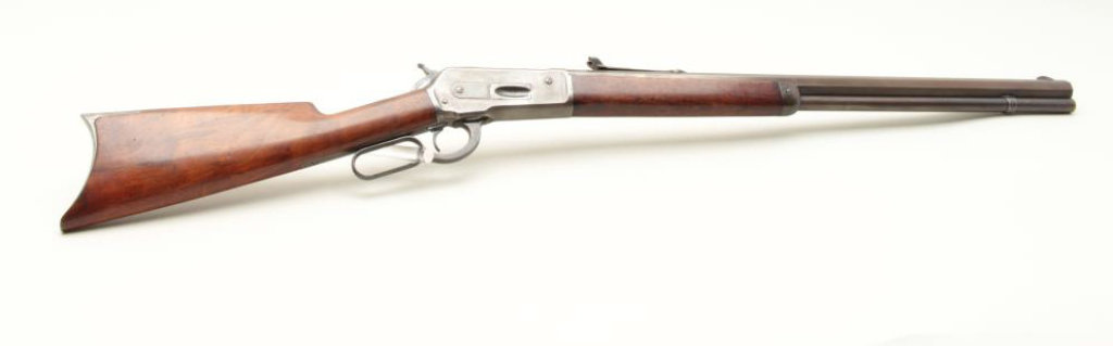 Winchester 1886 special ordered factory extra heavy octagon barrel rifle