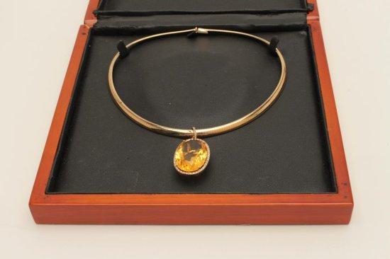 Rare Estate piece 'made in Italy' 14 karat yellow gold