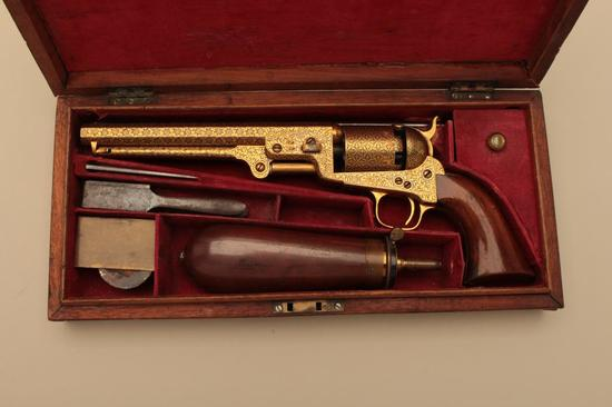 18GJ-1 COLT DAMASCENED 1851 #35232