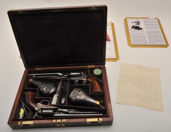 18HB-1 WAT CASED SET COLT 1860/1861