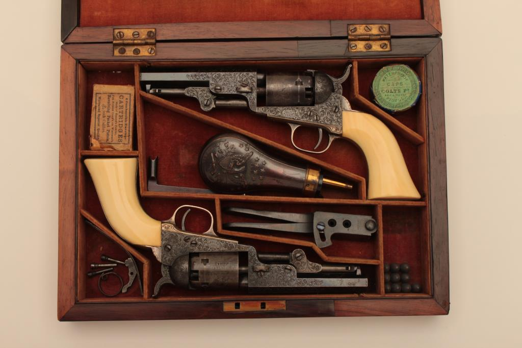 18NO-1 PAIR OF GUSTAV YOUNG 1849 Pocket Mdls