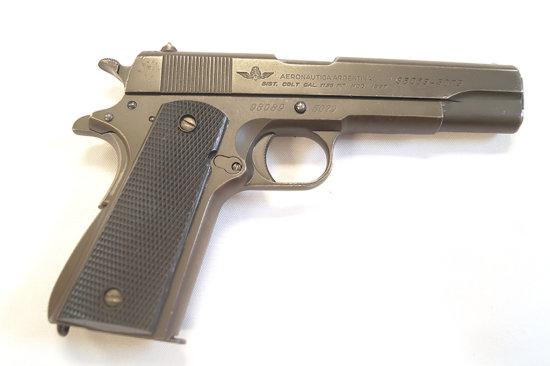 Colt Aeronautica, Argentina Pistol -  1125 mm / .45 Caliber  Model 1927 Air Force.