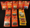 Large Group of 13 1989 World Class Matchbox Cars still in Original Packaging.