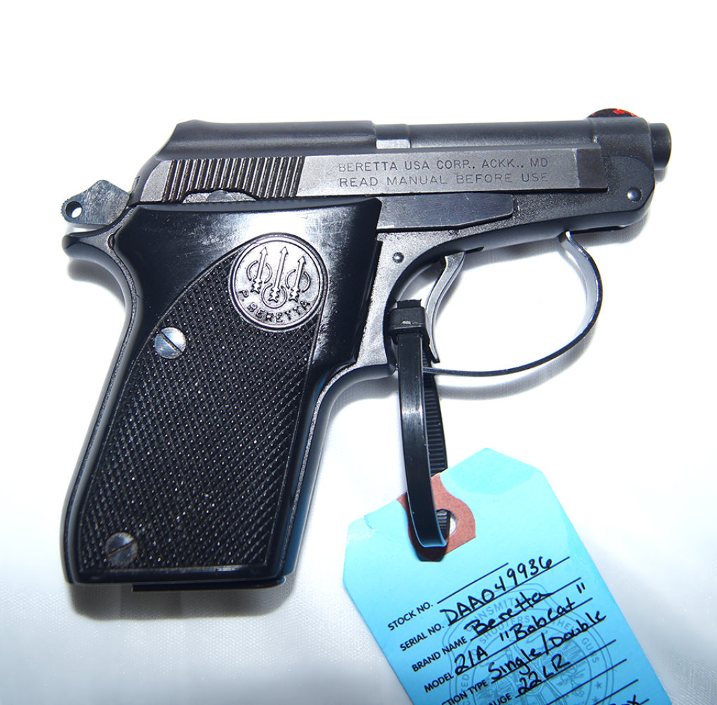 Lot: Beretta 21A Bobcat-- 22LR | Proxibid Auctions