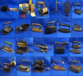 Antique Flat & Sad Iron Auction-Bennett's Premiere