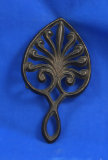 Small spade shaped trivet,