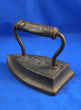 Tailors iron, 5, cast iron, Ht 4 1/2
