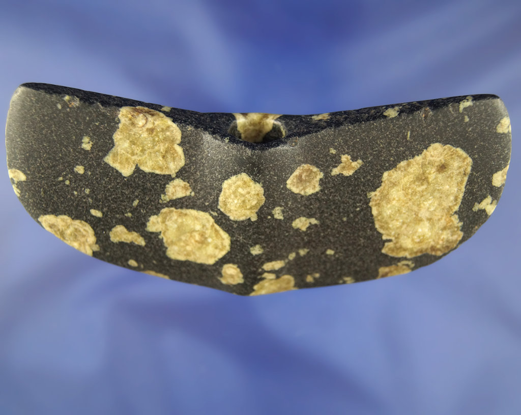 "5 5/16"" Porphyry Wing Bannerstone. Ex. Ron Bogg Collection."