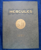 Hercules Corporation of Evansville, Indiana 1920 catalog No 26, cloth samples, 64 pages.