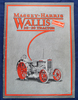 "Massey-Harris Wallis ""Certified"" 20-30 Tractor catalog, 63 pages, some color, no date"