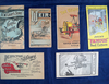 "Set of 6 little catalogs, approx 3 1/2"" x 6"" each, *See full description."