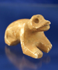 "3 1/8"" long carved stone animal figure found nearTaxco, Guerrera Mexico."