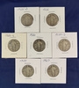 1926, 1926-D, 1927, 1929, 1929-S, 1930 and 1930-S Standing Liberty Quarters G-F