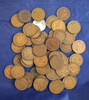 60 Assorted Indian Cents Cull-F
