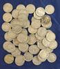 60 Assorted Buffalo Nickels G-VF