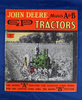 John Deere Tractors catalog, Models A & B, some color