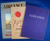 Set of 3 catalogs, Adriance Plow Co, some color