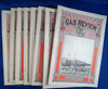Set of 9, Gas Review, Vol. 10, Jan, Feb, March, May, June, July, Aug, Sept, Oct, 1917