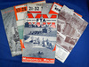 Set of 7 Minneapolis-Moline T win City tractor brochures; 1930's & 40's. *See full description.