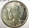 1928-S Peace Silver Dollar AU